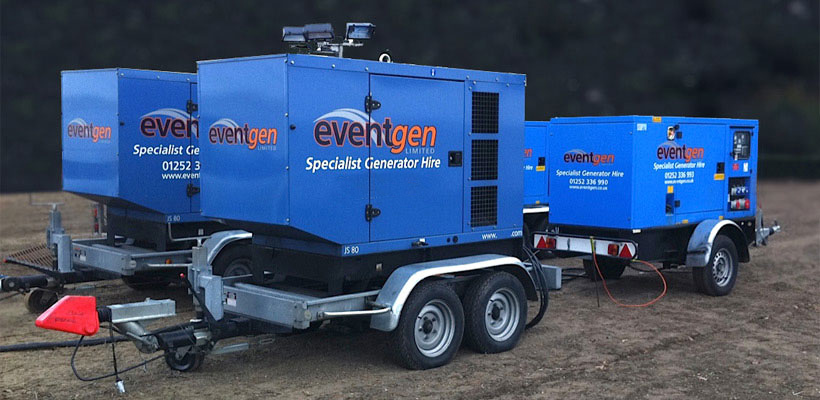 Standby Power Systems / EventGen - 01252 318250